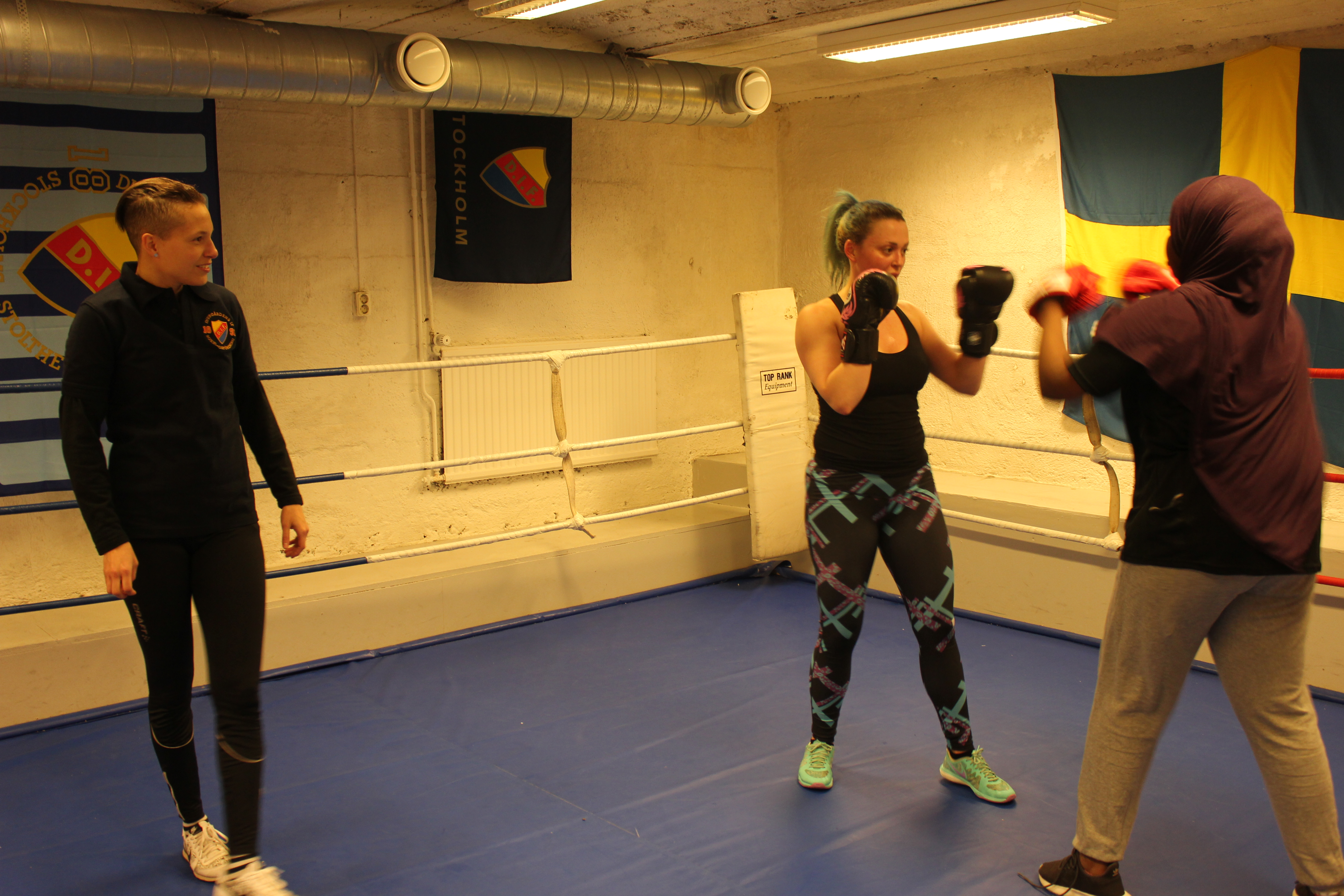 boxning stockholm nybörjare