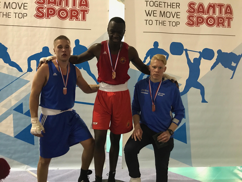 Alex Bwambale vann Ruskaturneringen!
