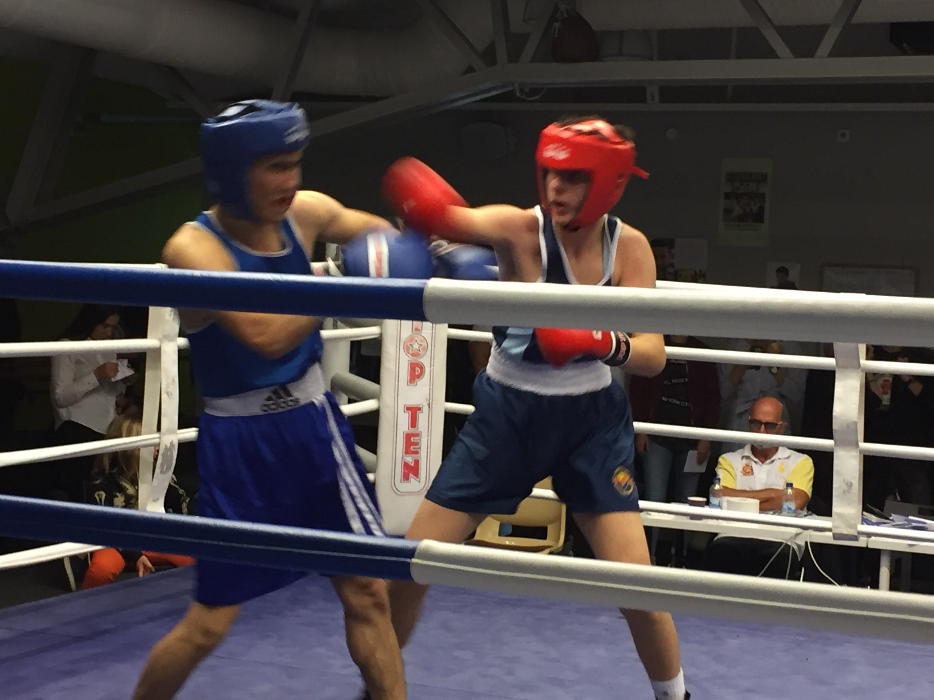Missa inte Djurgårn's boxningstävling på lördag!