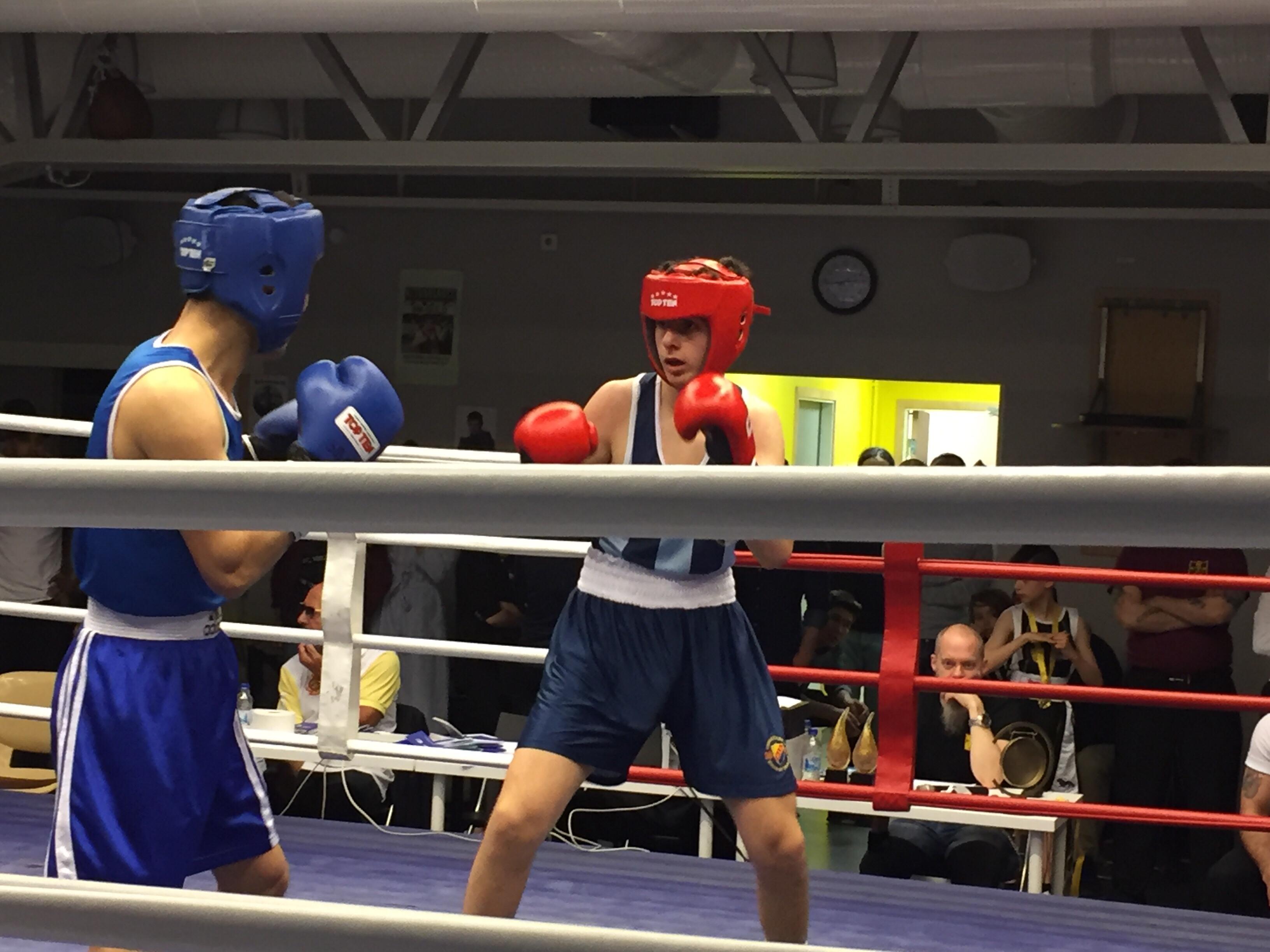Missa inte Djurgårn's boxningstävling nu på lördag!