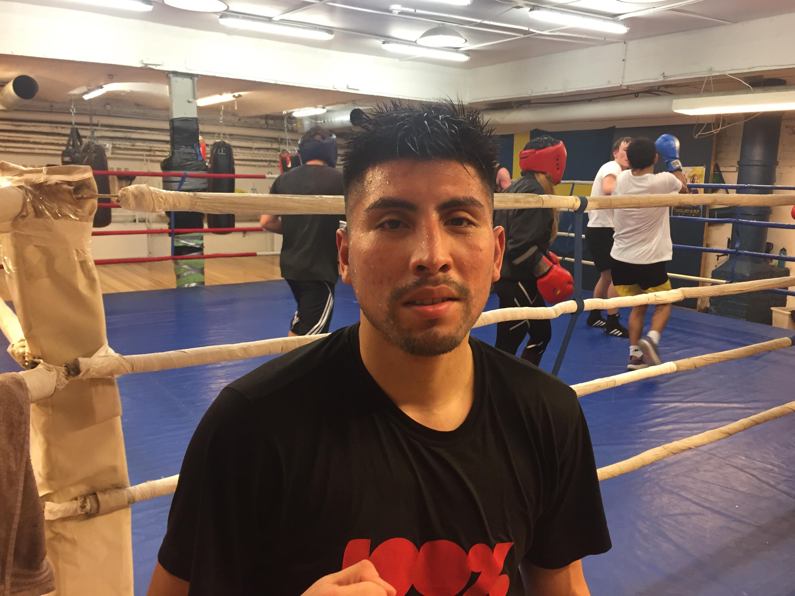 Erik Mendoza – Landslagsboxare!