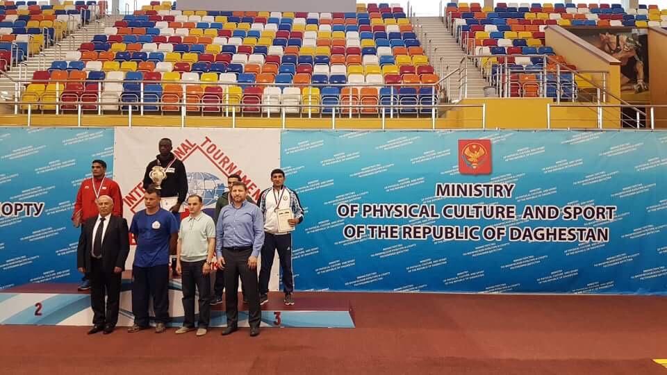 Alex Bwambale vann storturnering i Dagestan!