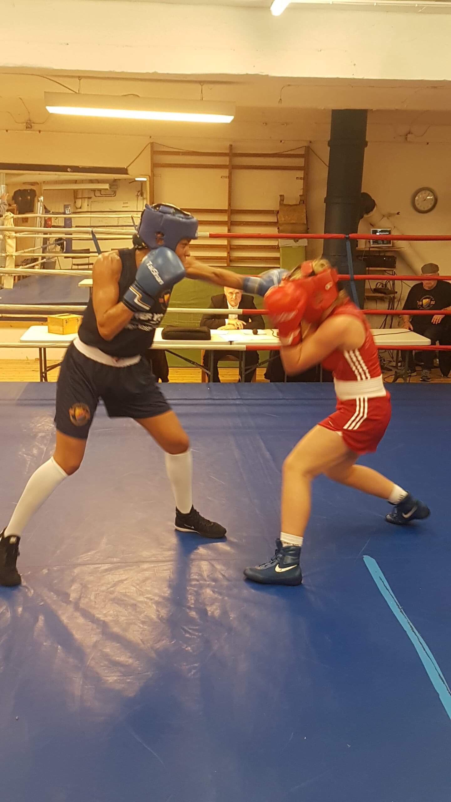 Boxningstävling hos Djurgården den 13 oktober!