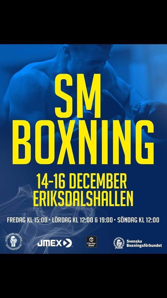 Missa inte Boxnings-SM!