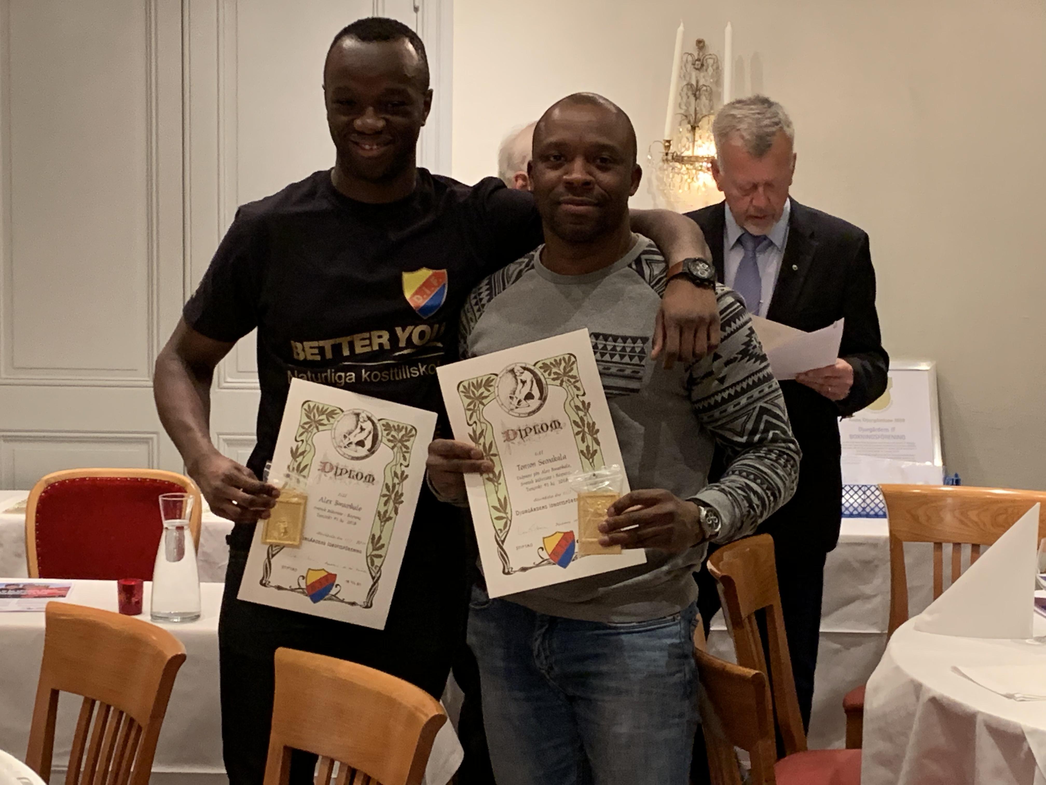 Ytterligare utmärkelser för Djurgårdsboxare