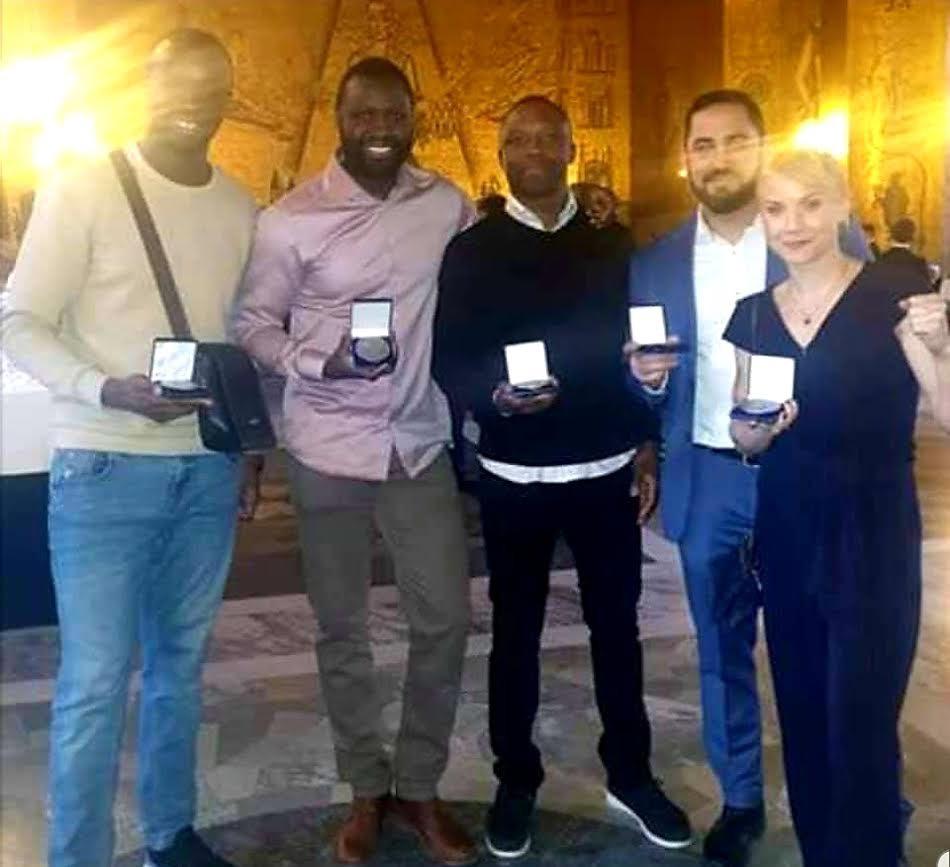 Stockholm stad prisade Djurgårdsboxare
