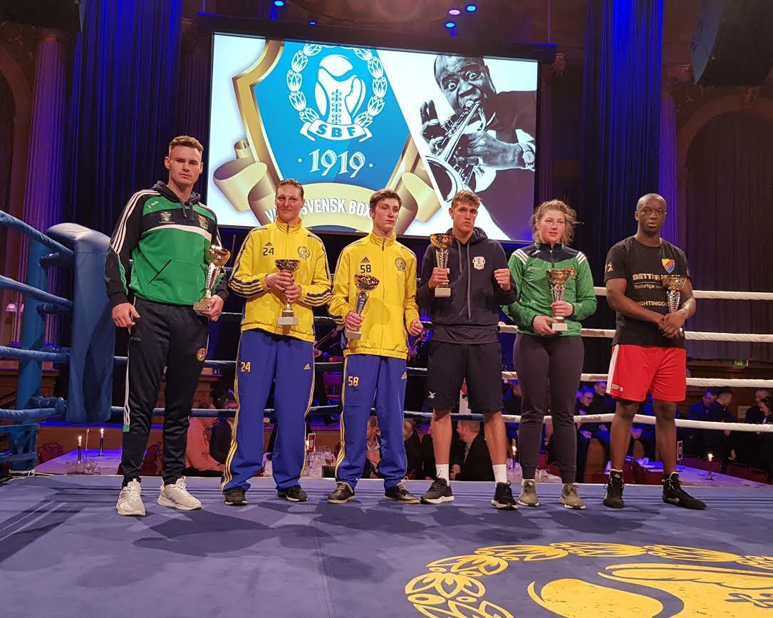 DIF-boxare prisades på Boxningsförbundets 100-årsgala