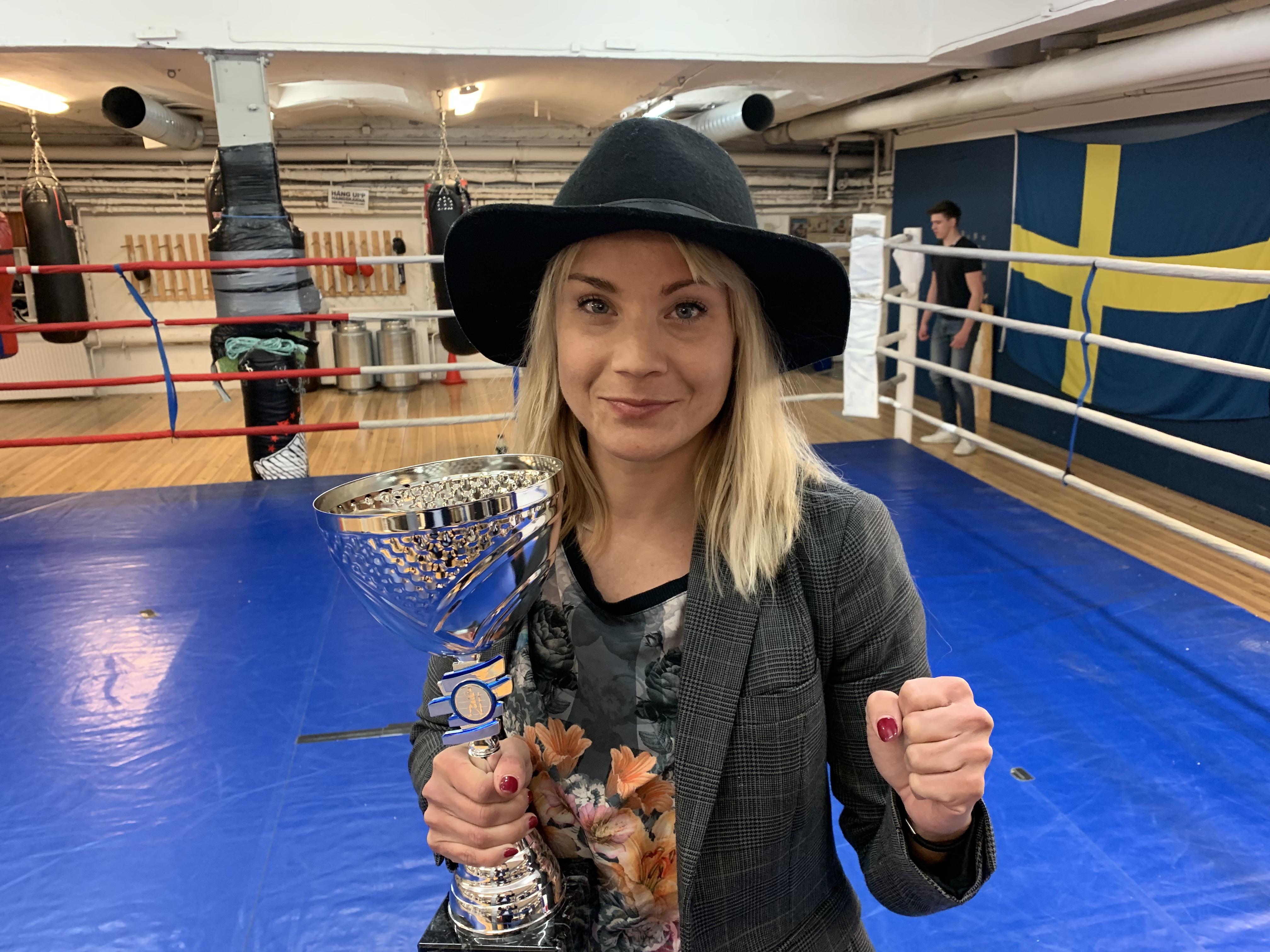 Lina utsedd till årets boxare 2018