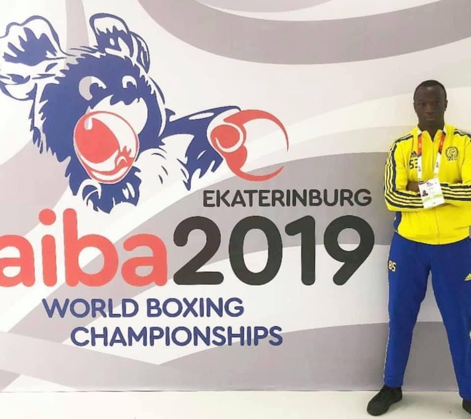 Nu börjar VM för Alex Bwambale