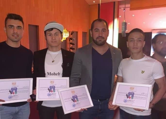 Djurgårdstränaren Ajmal Omarzadah fick pris för sitt arbete med afghanska ungdomar
