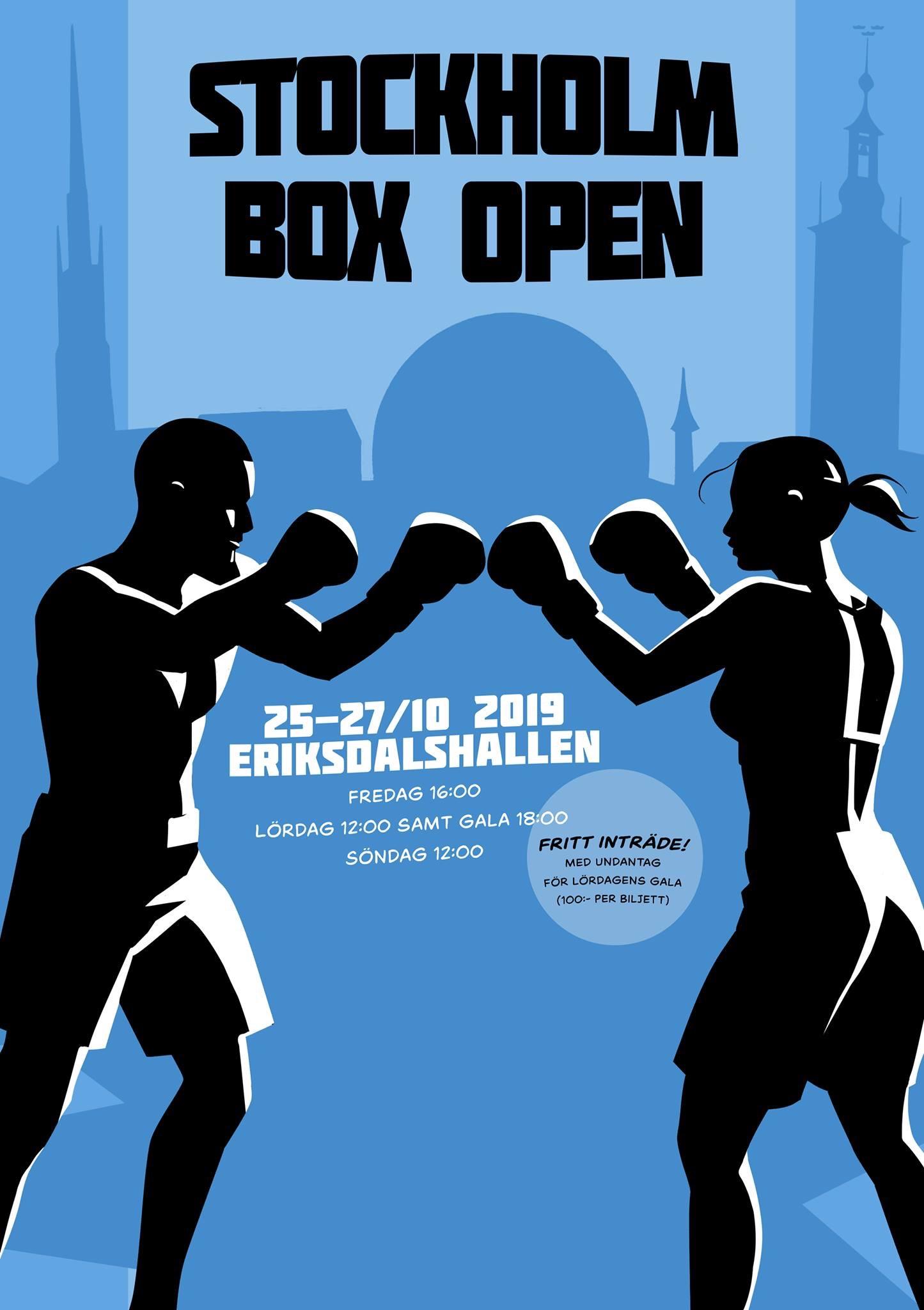 Kom till elitgalan ikväll på Stockholm Box Open.