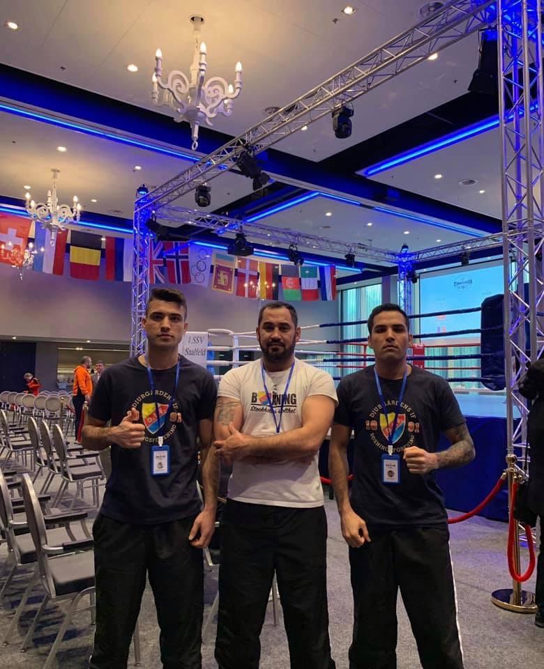 Djurgårdsboxare inHolland – Eindhoven Box Cup 2019