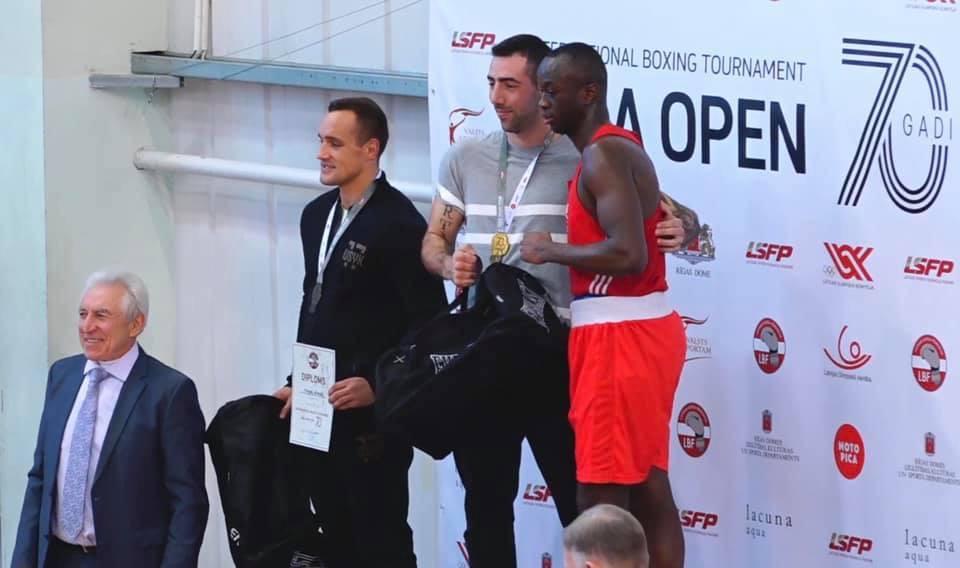 Två guld på Riga Open