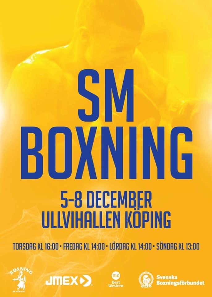 Nu börjar Boxnings-SM