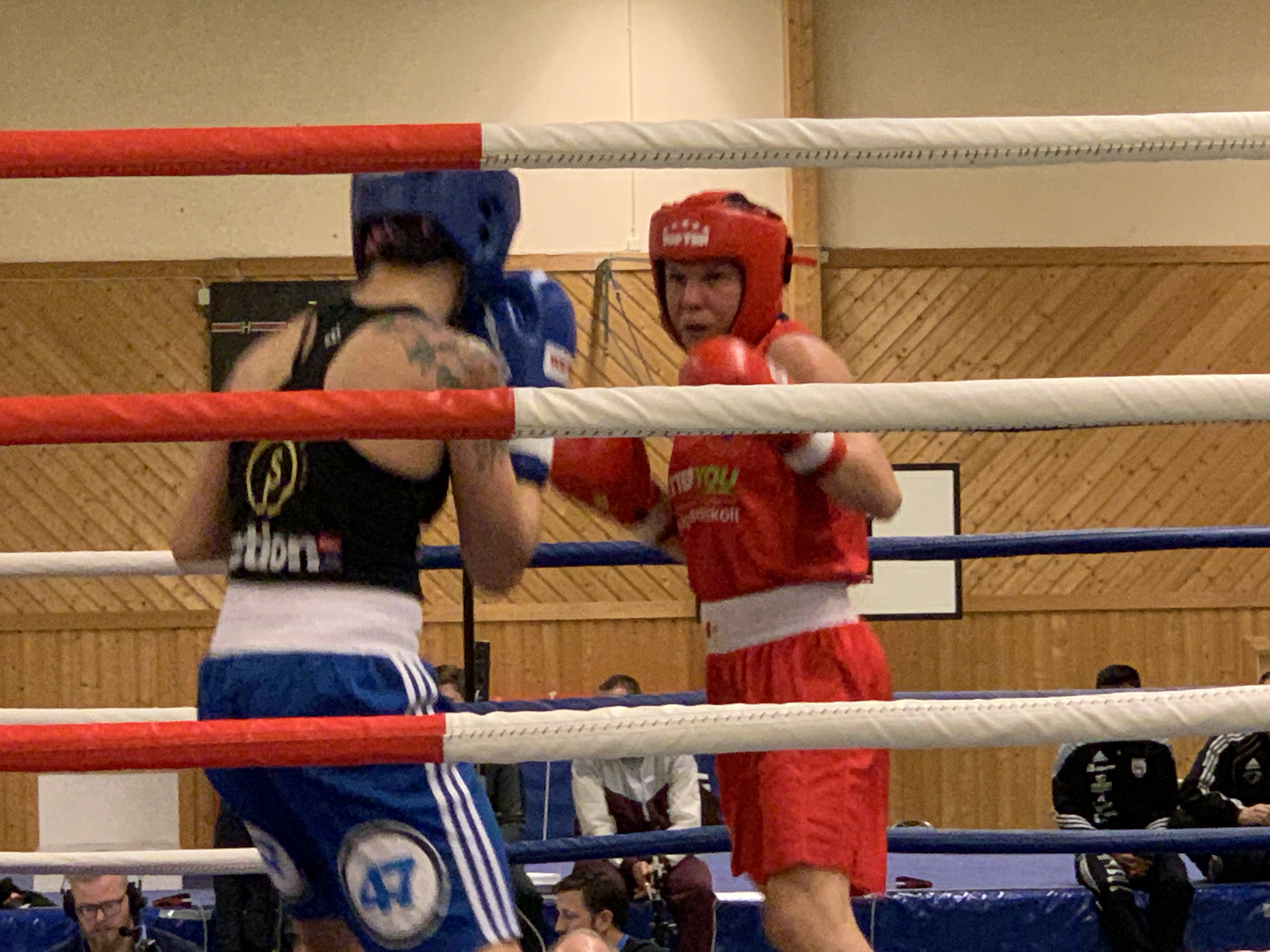 Boxningstävling hos Djurgården Boxning den 22 februari