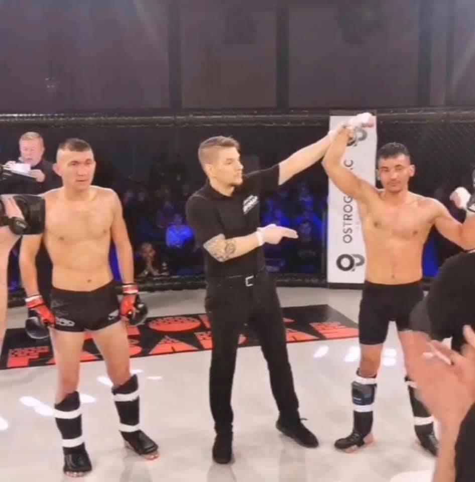 Poängvinst för Rohullah på MMA-gala