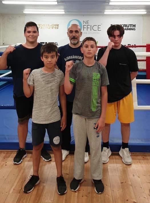 Gratis boxningsträning för ungdomar i sommar