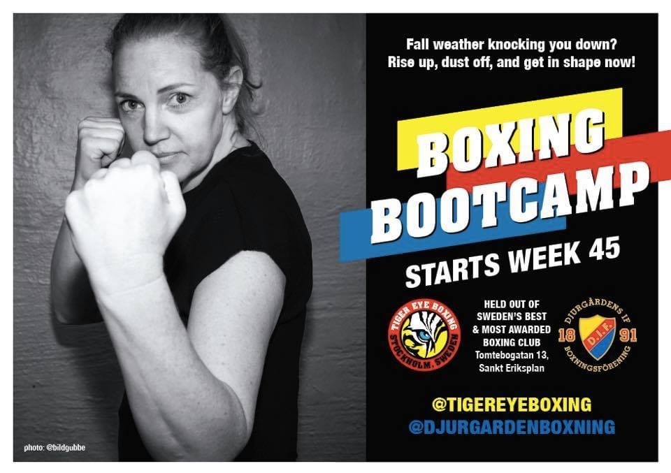 Boxing Bootcamp med start vecka 45