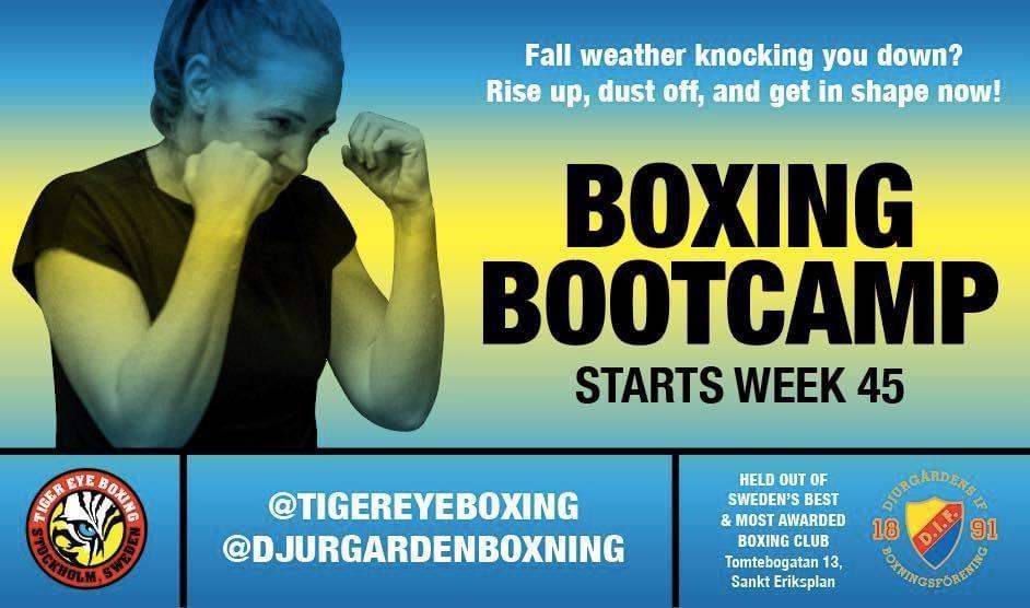 Boxing Bootcamp börjar nästa vecka