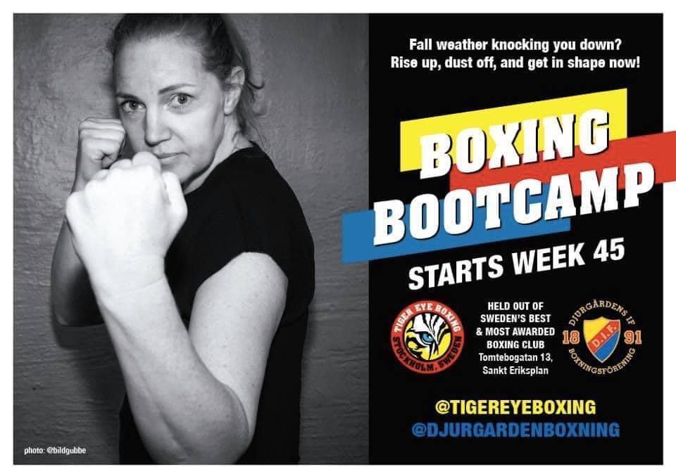 Boxing Bootcamp rullar på!