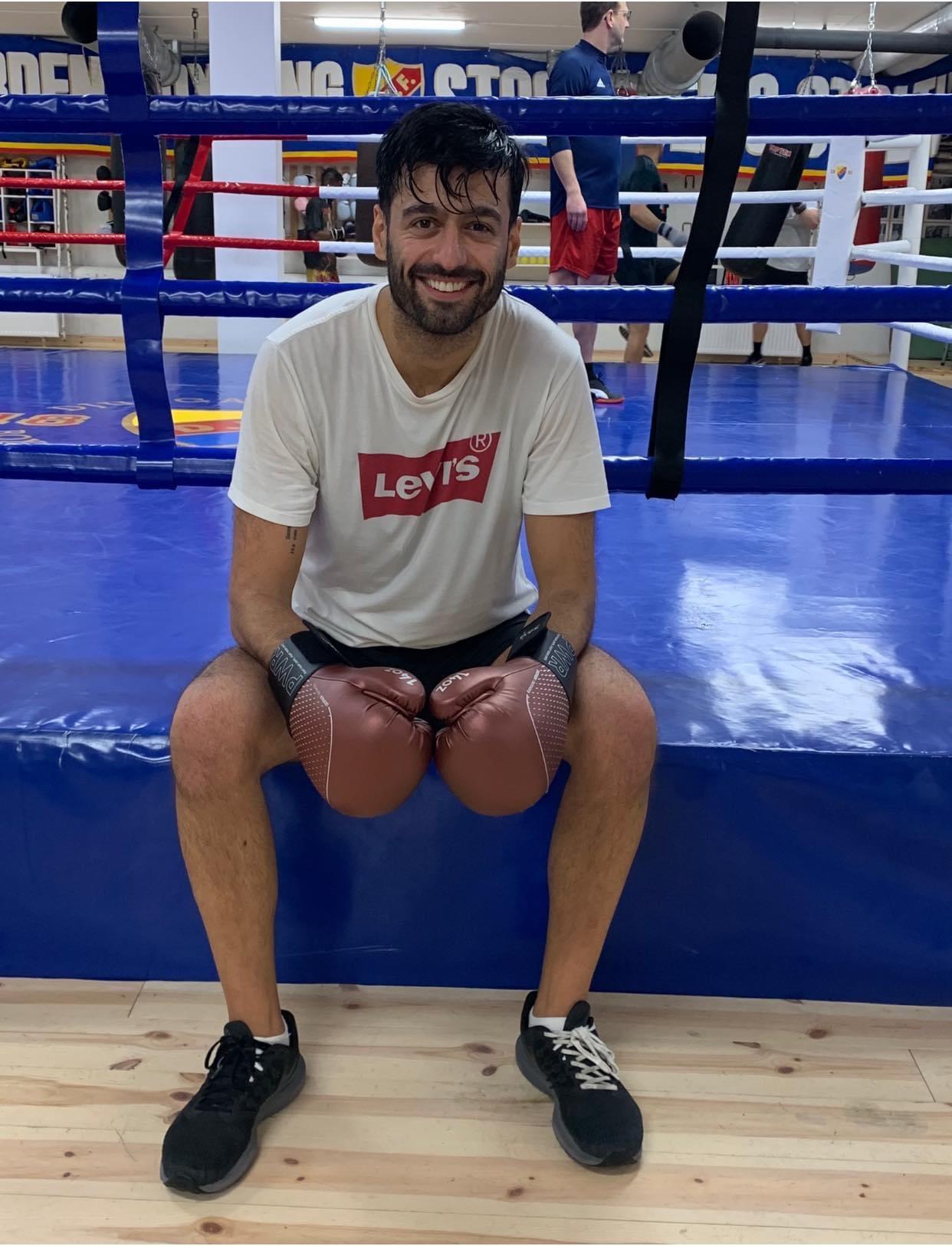 Ramin Heidari – Årets motionär
