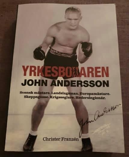 Ny bok om John Andersson