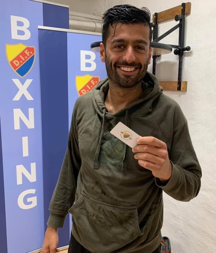 Ramin Heidari – Årets motionsboxare 2020