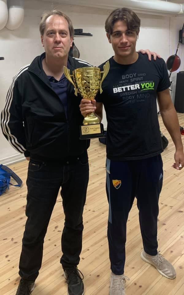 Sebastian Johansson – Årets ungdomsboxare