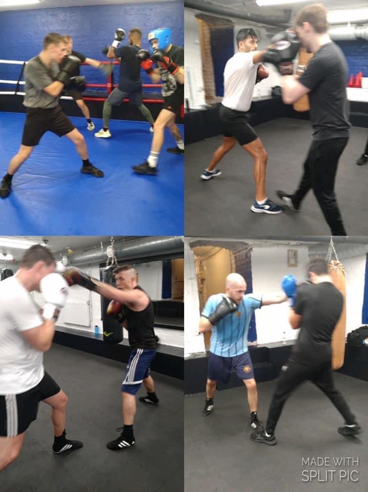 Motion fortsättning och sparring